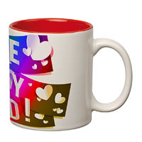 Prithish I Love You Dad Double Color Mug