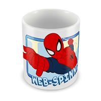 Marvel Ultimate Spider-Man Web Spinner Ceramic Mug