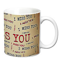 Prithish I Miss You White Mug