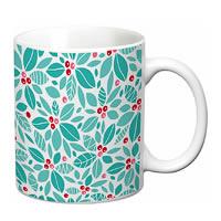 Prithish Floral Design Design 1 White Mug