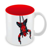 Marvel Deadpool - Hanging Ceramic Mug