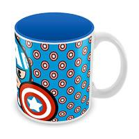 Marvel Captain America - Kawaii Art Ceramic Mug