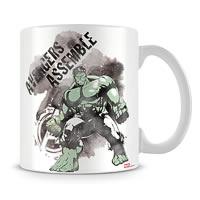 Marvel Avengers Assemble - Hulk in Action Ceramic Mug