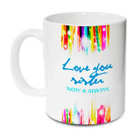 Hot Muggs Love You Sister Mug