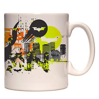 Warner Brothers Batman Saves Gotham City Mug