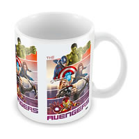 Marvel The Avengers Ceramic Mug