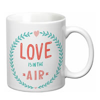 Prithish Love Is In The Air White Mug