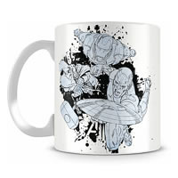 Marvel Assemble Cast Sketch Ceramic Mug