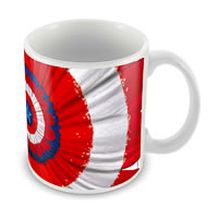 Marvel Captain America Design 75 Years Ceramic Mug