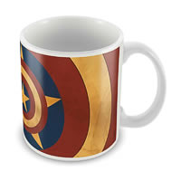 Marvel Captain America Logo Classic Ceramic Mug
