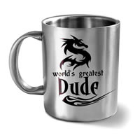 Hot Muggs World's Greatest Dude Mug