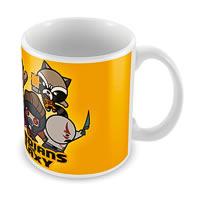 Marvel Guardians of the Galaxy - Kawaii Art Ceramic Mug