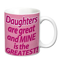 Prithish Daughters Are Great And Mine Is The Greatest White Mug