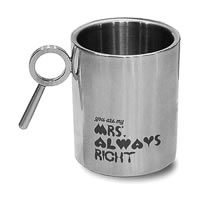 Hot Muggs For You - My Mrs. Always Right Mug