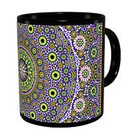 Kolorobia Magnificient Moroccan Classic Black Mug