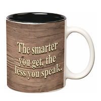 Prithish Smarter You Get Double Color Mug