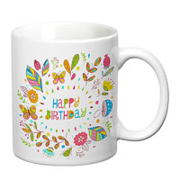 Prithish Happy Birthday White Mug