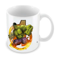 Marvel Hulk the Avenger Ceramic Mug