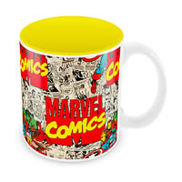 Marvel Comics Design Ceramic Mug