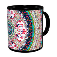 Kolorobia Turkish Classic Black Mug