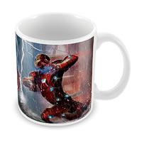 Marvel Civil War Captain America Ceramic Mug