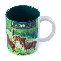 Hot Muggs Wild Focus - Free Spirited Mug