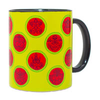 MadCap Traditional Designer Ceramic Mug