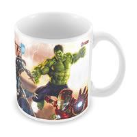 Marvel Avengers in Action Ceramic Mug