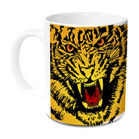 Hot Muggs Wild Focus Tiger Mug - Stand Up, Fight and Feel Damn Good