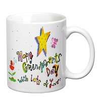 Prithish Happy Grandparents Day White Mug