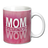Prithish Mom Is A Reflection Of Wow White Mug
