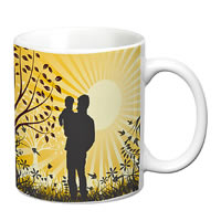 Prithish Father And Son White Mug