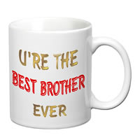 Prithish Best Brother Ever White Mug