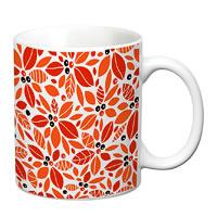 Prithish Floral Design Design 4 White Mug