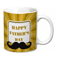 Prithish Happy Father's Day Design 1 White Mug