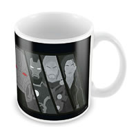 Marvel The Avengers Sketch Ceramic Mug
