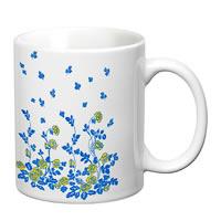 Prithish Floral Design Design 5 White Mug