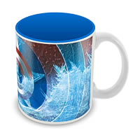 Marvel Captain America Blue Ceramic Mug