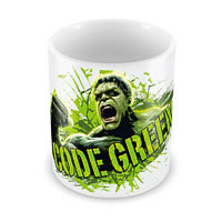 Marvel Code Green - Hulk Ceramic Mug