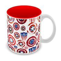 Marvel Captain America Avenger Art Ceramic Mug