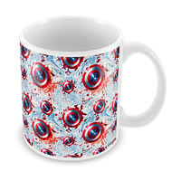 Marvel Civil War - Captain Logo Ceramic Mug