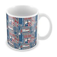 Marvel Civil War - Captain Soldier Ceramic Mug