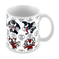 Marvel Kawaii Art - Venom Ceramic Mug