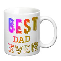 Prithish Best Dad Ever White Mug
