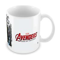 Marvel The Avengers Art Ceramic Mug