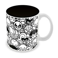 Marvel Kawaii Sketch Ceramic Mug
