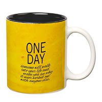 Prithish One Day White Mug