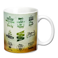 Prithish Motivational Design 1 White Mug