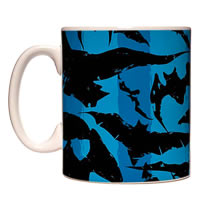 Warner Brothers Batman Blue Mug