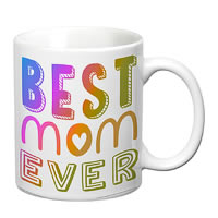 Prithish Best Mom Ever White Mug